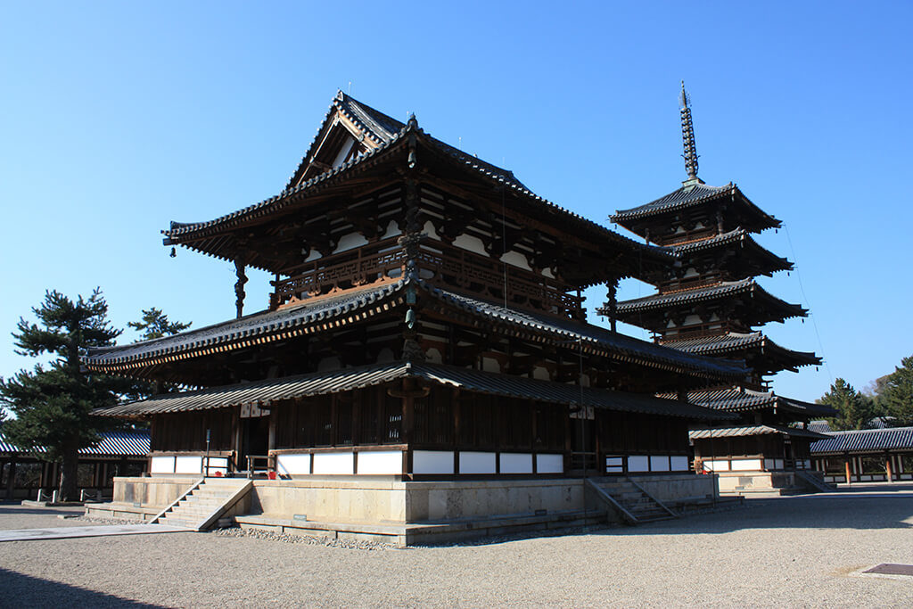 wood-法隆寺
