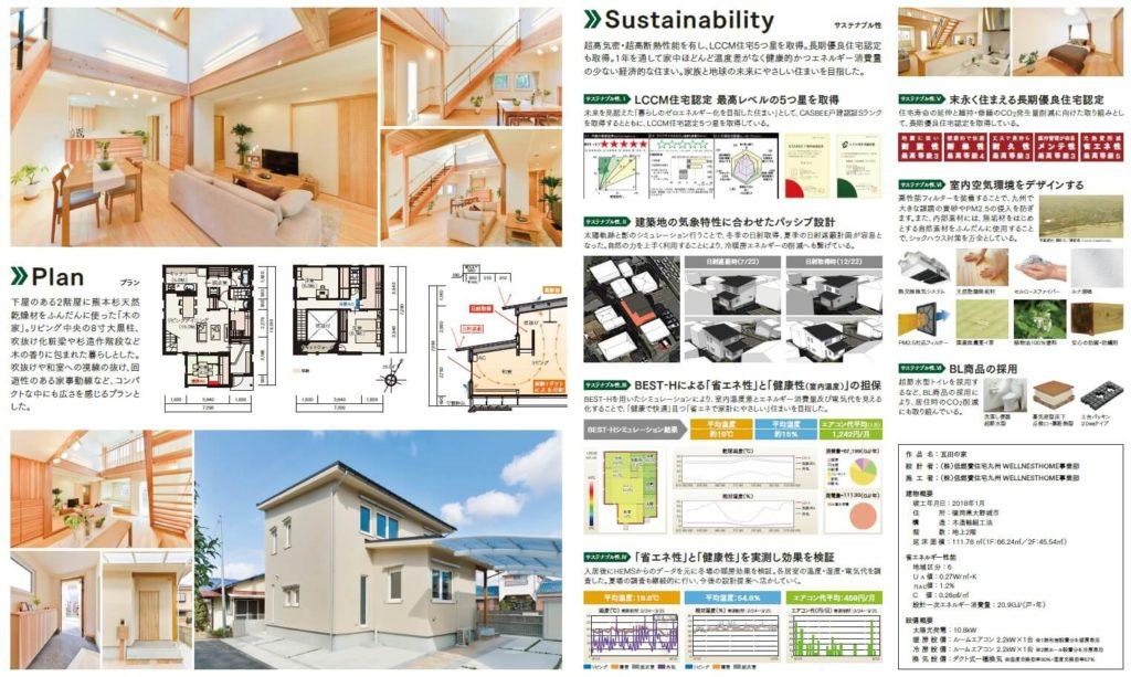 スタッフブログ|第8回サスティナブル住宅賞受賞|画像01