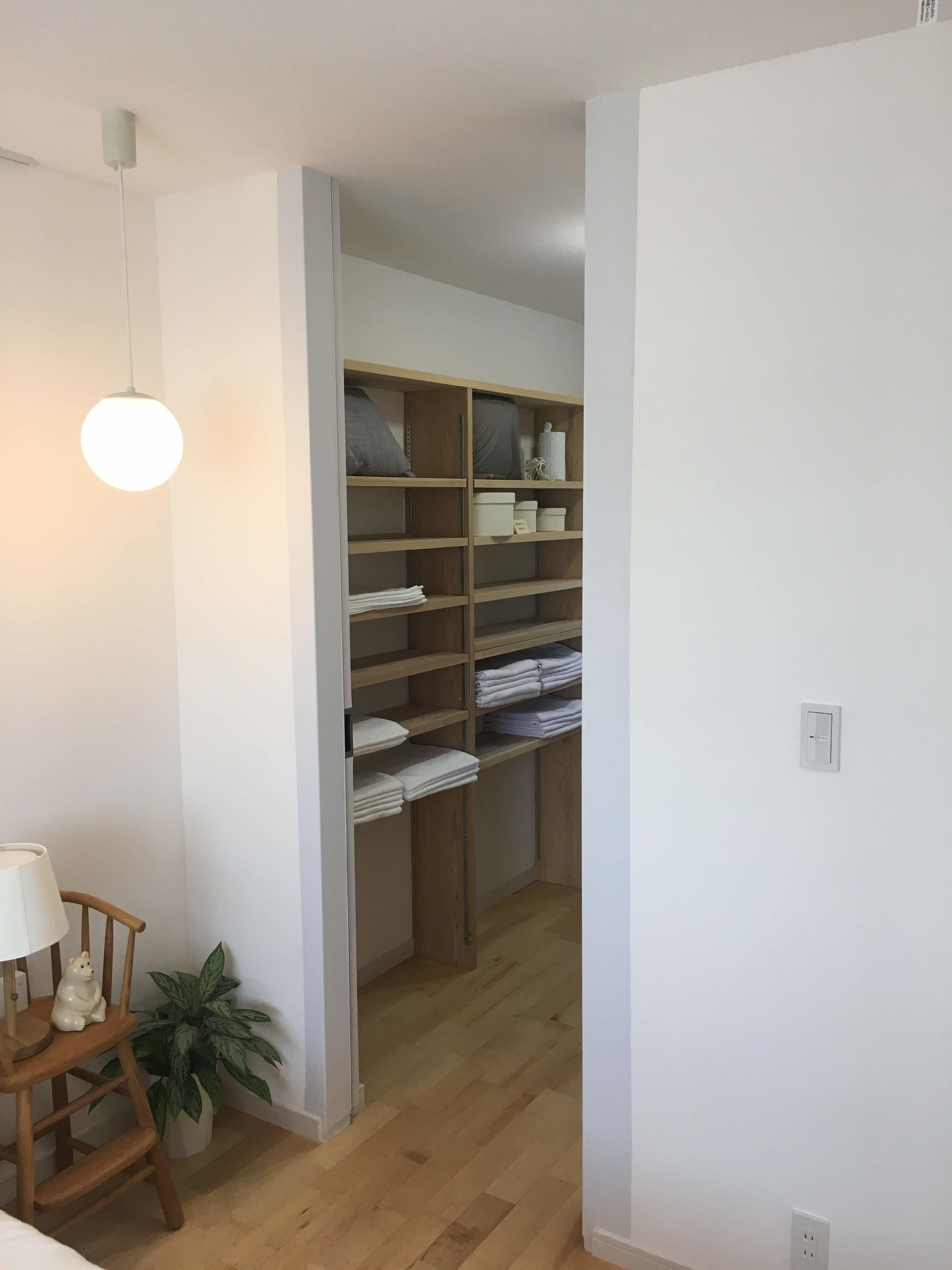 スタッフブログ| モデルハウス建具新調|ルナ漆喰|画像02
