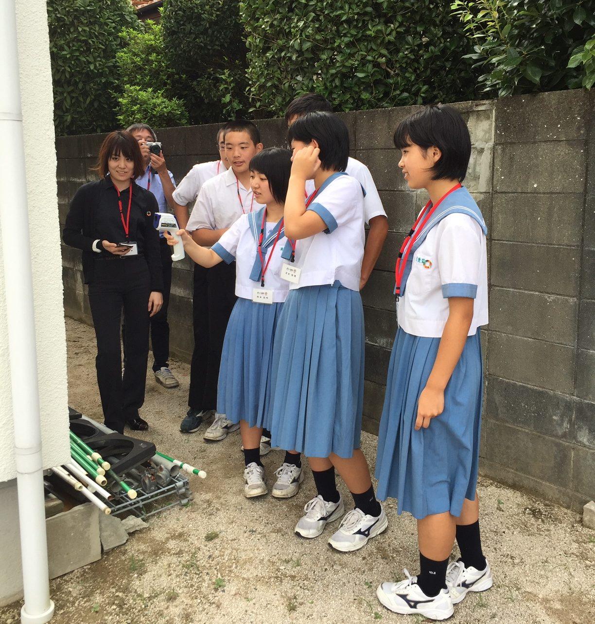 スタッフブログ| 小国町|中学生|モデルハウス体験会|画像05