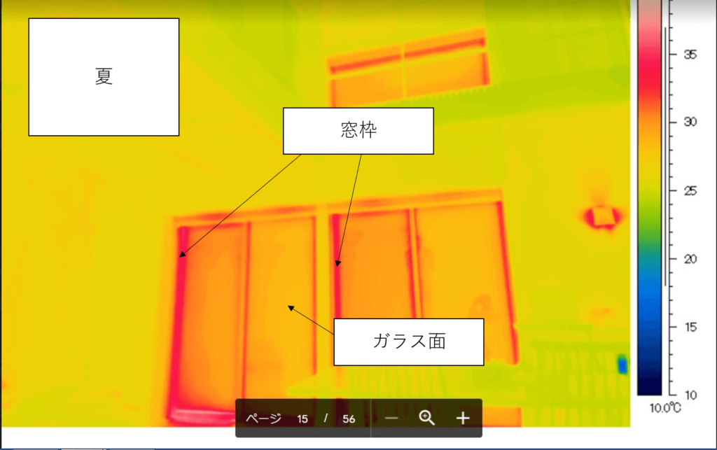 家づくりの知識|高断熱住宅|窓|サーモカメラ