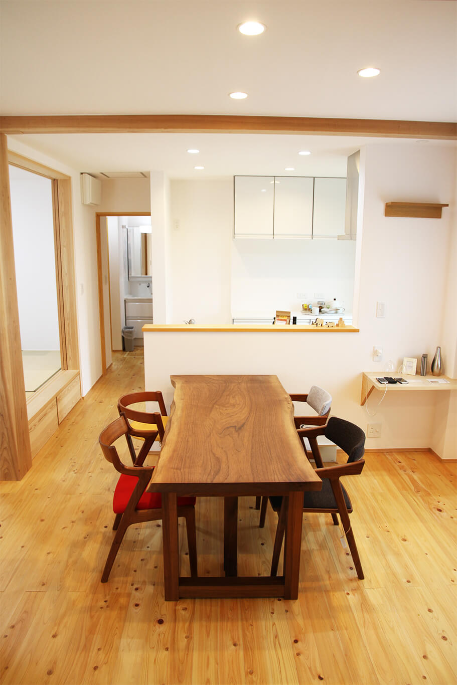ウェルネストホーム九州 デザイン集 糸島市F様邸 リビング01