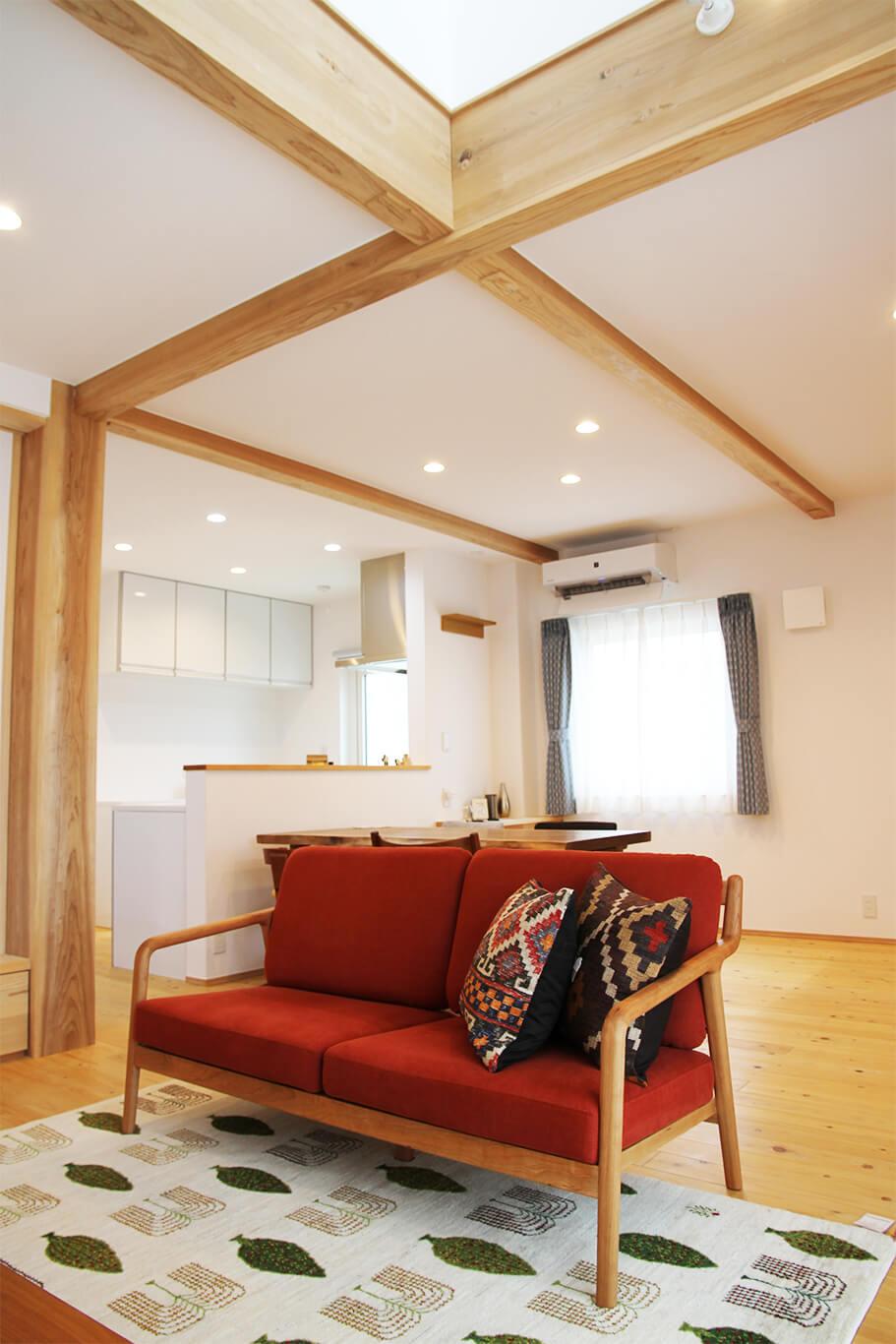 ウェルネストホーム九州 デザイン集 糸島市F様邸 リビング04
