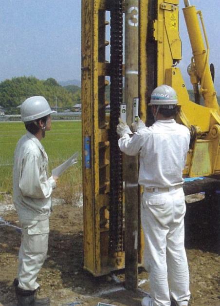 家づくりの流れ|施工|地盤調査|地盤改良|画像03