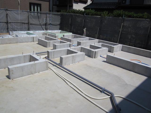 家づくりの流れ|施工|基礎工事|画像01