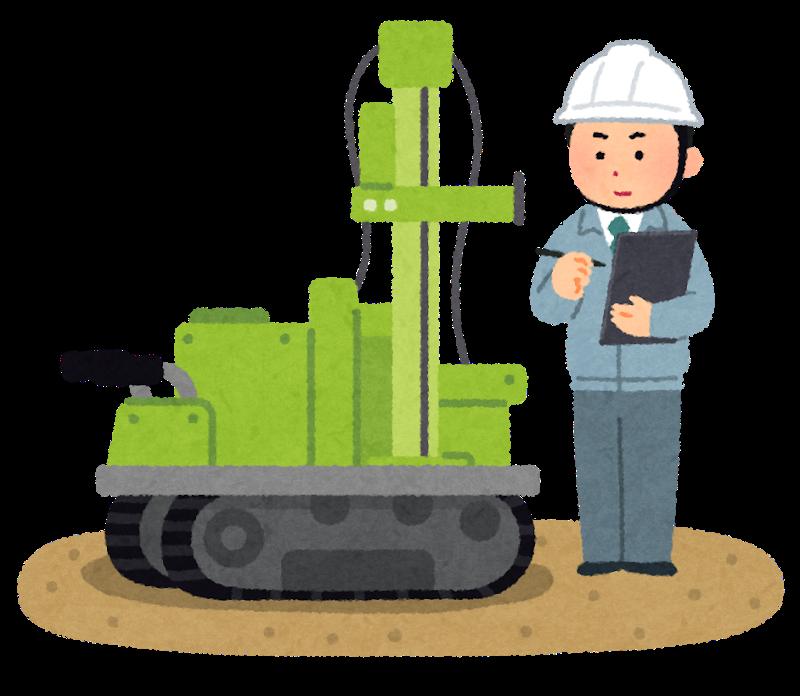 家づくりの流れ|施工|地盤調査|地盤改良|画像01