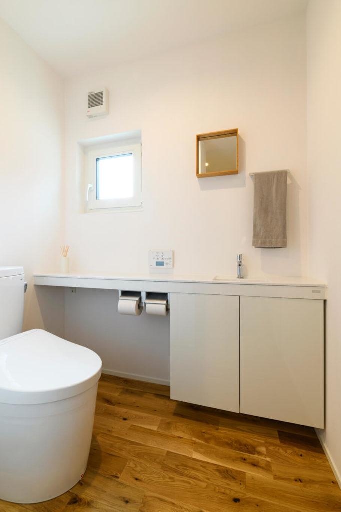 ウェルネストホーム九州|デザイン集|福岡市西区S様邸|トイレ