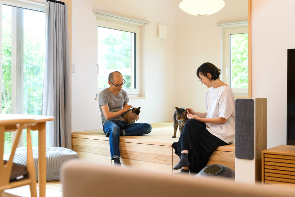 ウェルネストホーム九州|デザイン集|福岡市西区S様邸|リビング04