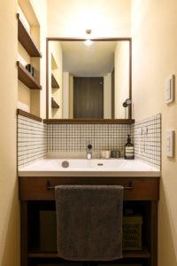 ウェルネストホーム九州|デザイン集|福岡市西区M様邸|洗面台