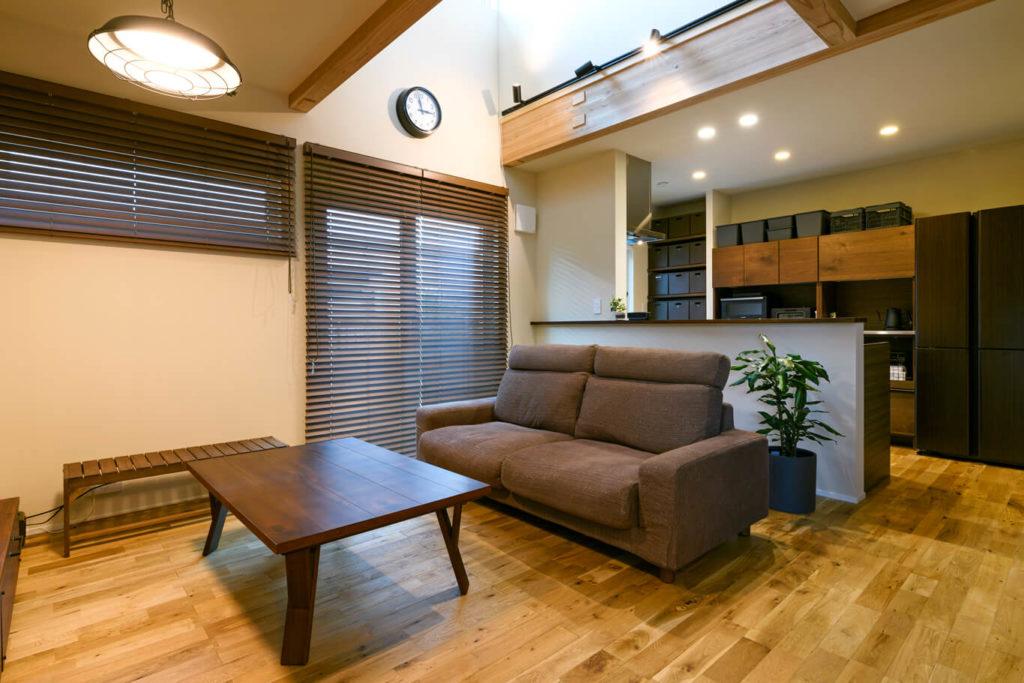 ウェルネストホーム九州|デザイン集|福岡市西区M様邸|リビング01