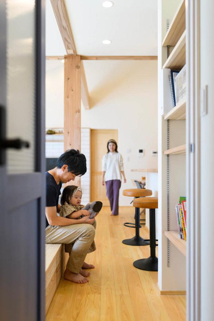 ウェルネストホーム九州|デザイン集|朝倉市T様邸|リビング02