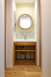 ウェルネストホーム九州|デザイン集|行橋市K様邸|洗面台